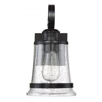 "Savoy House Winston 11.5"" Outdoor Wall Lantern in English Bronze"