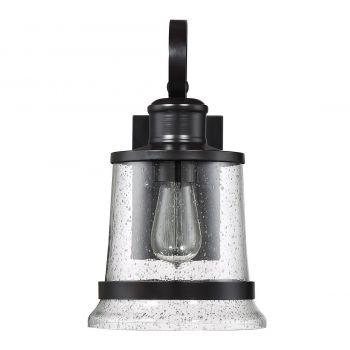 "Savoy House Winston 14"" Outdoor Wall Lantern in English Bronze"