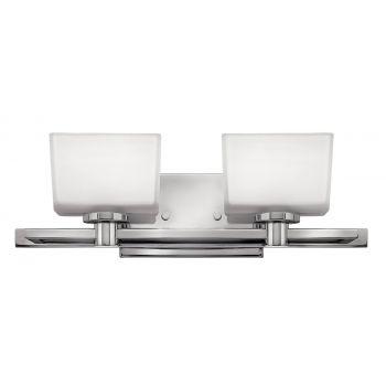Hinkley Taylor 2-Light Bathroom Vanity Light in Chrome