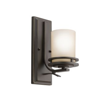 Kichler Hendrik 1-Light Wall Sconce in Olde Bronze
