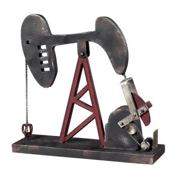 ELK Home Oil Pump Accessory in Blackened Iron