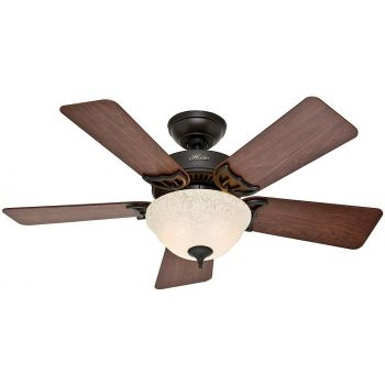 "Hunter Kensington 42"" Ceiling Fan in New Bronze"