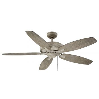 "Savoy House Kentwood 52"" 5-Blade Ceiling Fan in Aged Wood"