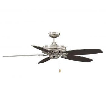 "Savoy House Kentwood 52"" 5-Blade Ceiling Fan in Polished Nickel"