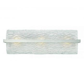 Hinkley Chloe 3-Light Bathroom Vanity Light in Brushed Nickel