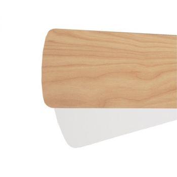 """Quorum Fan Accessories 52"""" Fan Blades in Maple/Studio White (Set of 5)"""
