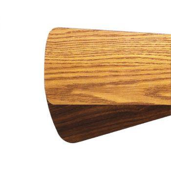 """Quorum Fan Accessories 52"""" Fan Blades in Medium Oak/Walnut (Set of 5)"""