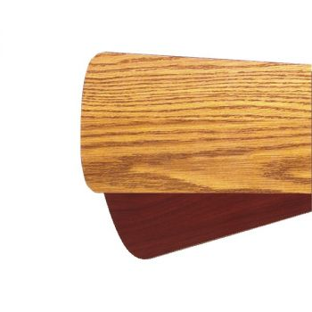 """Quorum Fan Accessories 52"""" Fan Blades in Medium Oak (Set of 5)"""