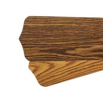 """Quorum Fan Accessories 52"""" Fan Blades in Dark Oak/Medium Oak (Set of 5)"""
