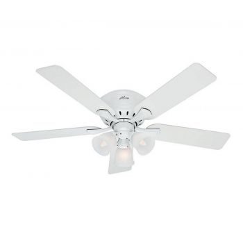 "Hunter Reinert 52"" Ceiling Fan in Snow White"