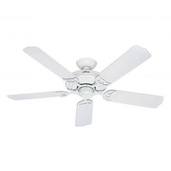 "Hunter Sea Air 52"" Indoor/Outdoor Ceiling Fan in White"