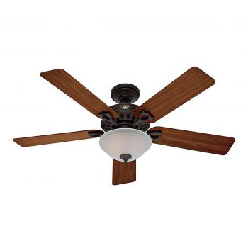 "Hunter Astoria 52"" Ceiling Fan in New Bronze"