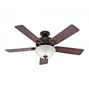 "Hunter Pro's Best 52"" Ceiling Fan in New Bronze"