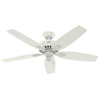 "Hunter Newsome 52"" Ceiling Fan in White"