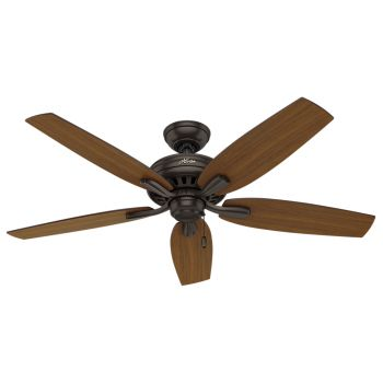 "Hunter Newsome 52"" Ceiling Fan in Premier Bronze"