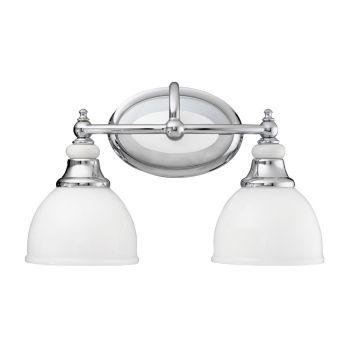 Kichler Pocelona 2-Light Bath Vanity in Chrome