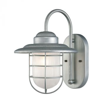 Millennium Lighting 5000 Series 1-Light Wall Sconce in Chrome