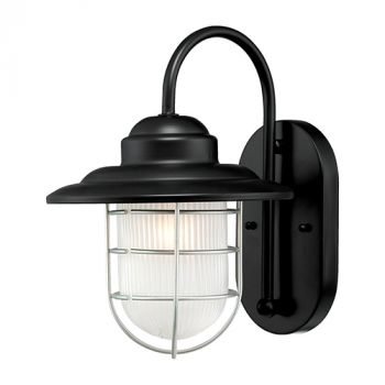 Millennium Lighting 5000 Series 1-Light Wall Sconce in Satin Black