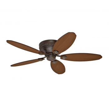 "Hunter Prestige St. Michaels 52"" Ceiling Fan in Egyptian Bronze"
