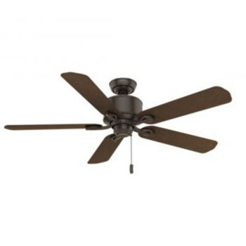 "Casablanca Compass Point 54"" Ceiling Fan in Bronze/Brown"