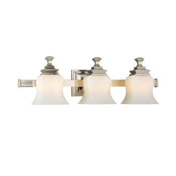 Hudson Valley Wilton 3-Light Bath Bracket in Nickel