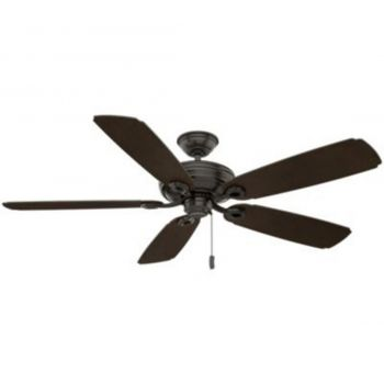 """Casablanca Charthouse 61"""" Outdoor Ceiling Fan in Bronze/Brown"""