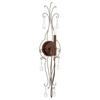 """Quorum Venice 30"""" Wall Sconce in Vintage Copper"""