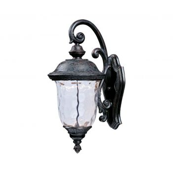 """Maxim Carriage House 20"""" LED Outdoor Wall Mount in Oriental Bronze"""