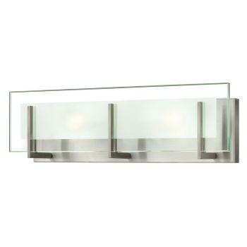 """Hinkley Latitude LED 18"""" Bathroom Vanity Light in Brushed Nickel"""