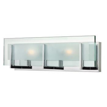"""Hinkley Latitude LED 18"""" Bathroom Vanity Light in Chrome"""