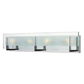 Hinkley Latitude LED Bathroom Vanity Light in Chrome