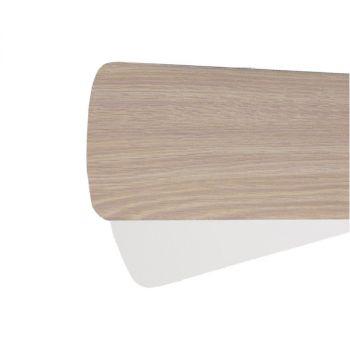 """Quorum Fan Accessories 56"""" Fan Blades in Washed Oak/White (Set of 5)"""