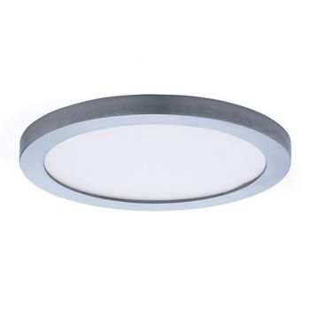 "Maxim Lighting Wafer LED 7"" Round Ceiling Light in Satin Nickel"