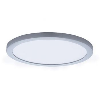 "Maxim Lighting Wafer LED 10"" Round Ceiling Light in Satin Nickel"