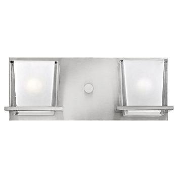 Hinkley Lola 2-Light Bathroom Fixture in Brushed Nickel