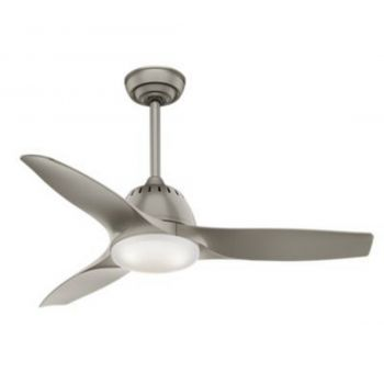 "Casablanca Wisp 44"" LED Indoor Ceiling Fan in Iron/Pewter"