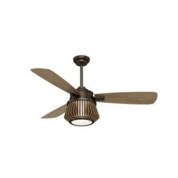 """Casablanca Glen Arbor 56"""" 2-Light LED Indoor Ceiling Fan in Bronze/Brown"""