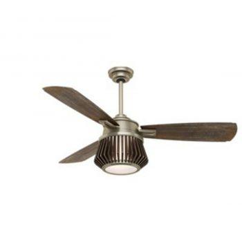 "Casablanca Glen Arbor 56"" 2-Light LED Indoor Ceiling Fan in Brass"