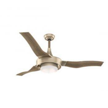 """Casablanca Perseus 64"""" LED Ceiling Fan in Brass"""