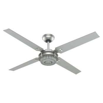 "Hunter Chronicle 54"" Ceiling Fan in Iron/Pewter"