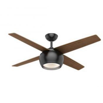 "Casablanca Valby 54"" LED Indoor Ceiling Fan in Black"