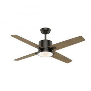 "Casablanca Axial 52"" LED Indoor Ceiling Fan in Bronze/Brown"