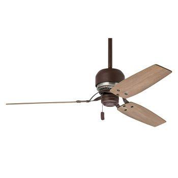 """Casablanca Tribeca 52"""" Indoor Ceiling Fan in Bronze/Brown"""