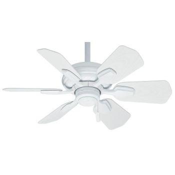 """Casablanca Wailea 31"""" Indoor/Outdoor Ceiling Fan in White"""