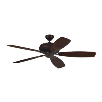 "Monte Carlo 60"" Embassy Max Ceiling Fan in Roman Bronze"
