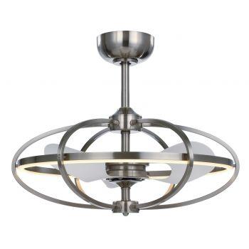 Maxim Lighting Corona 1-Light 1-Light Fandelier in Satin Nickel