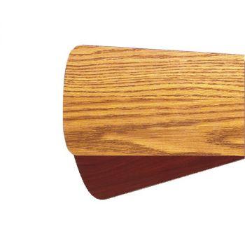 """Quorum Fan Accessories 60"""" Fan Blades in Medium Oak/Rosewood (Set of 5)"""