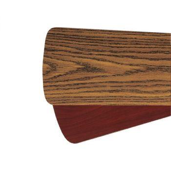 """Quorum Fan Accessories 60"""" Fan Blades in Dark Oak/Rosewood (Set of 5)"""