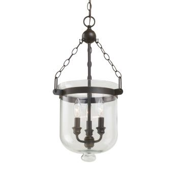 Sea Gull Lighting Westminster 3-Light Pendant in Autumn Bronze
