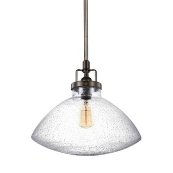 Sea Gull Lighting Belton 1-Light Pendant in Heirloom Bronze
